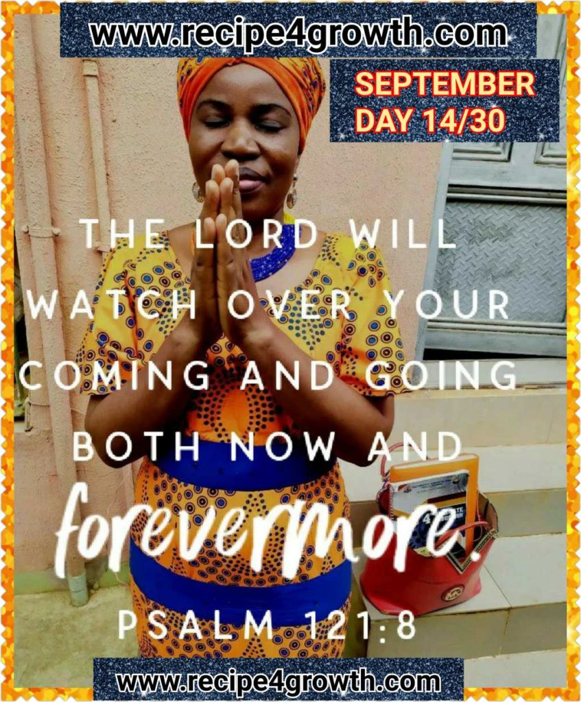 SEPTEMBER DAILY BIBLE VERSE DAY 14