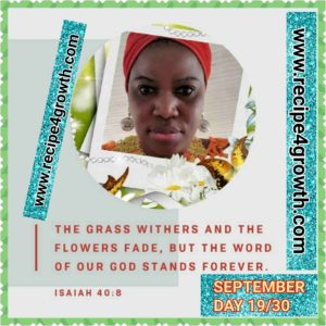 SOUL FEAST DAY 19 SEPTEMBER
