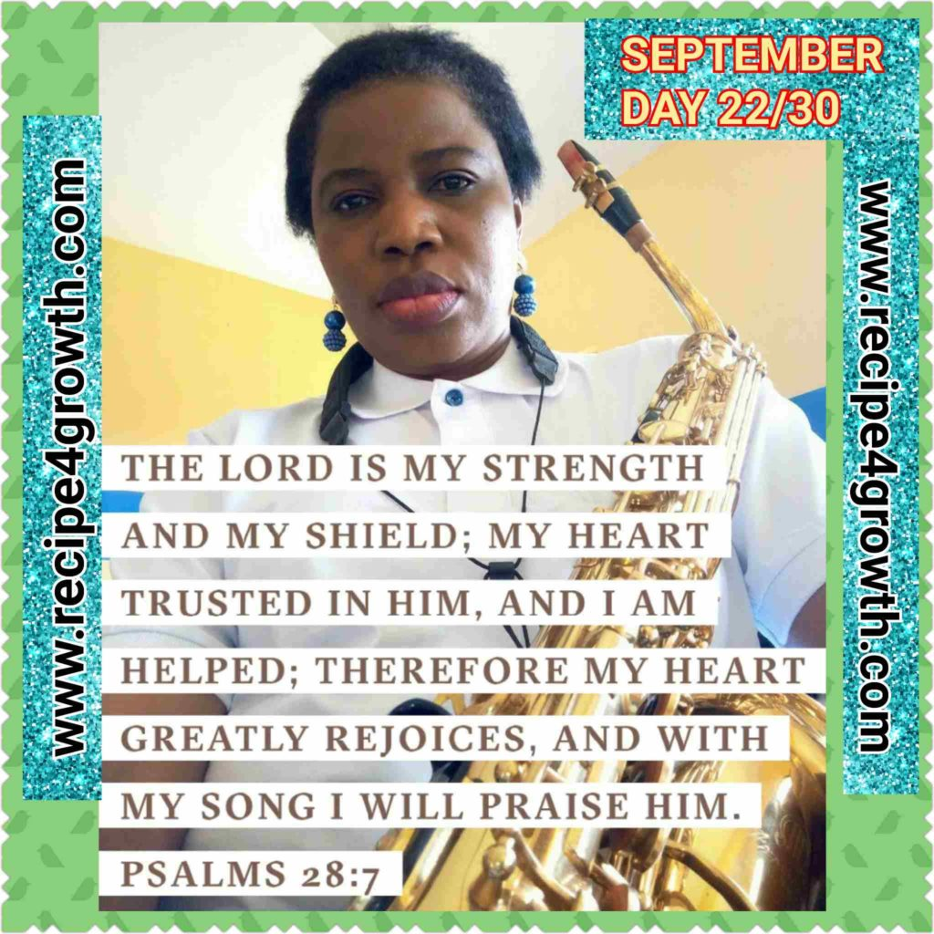 SEPTEMBER DAILY BIBLE VERSE DAY 22
