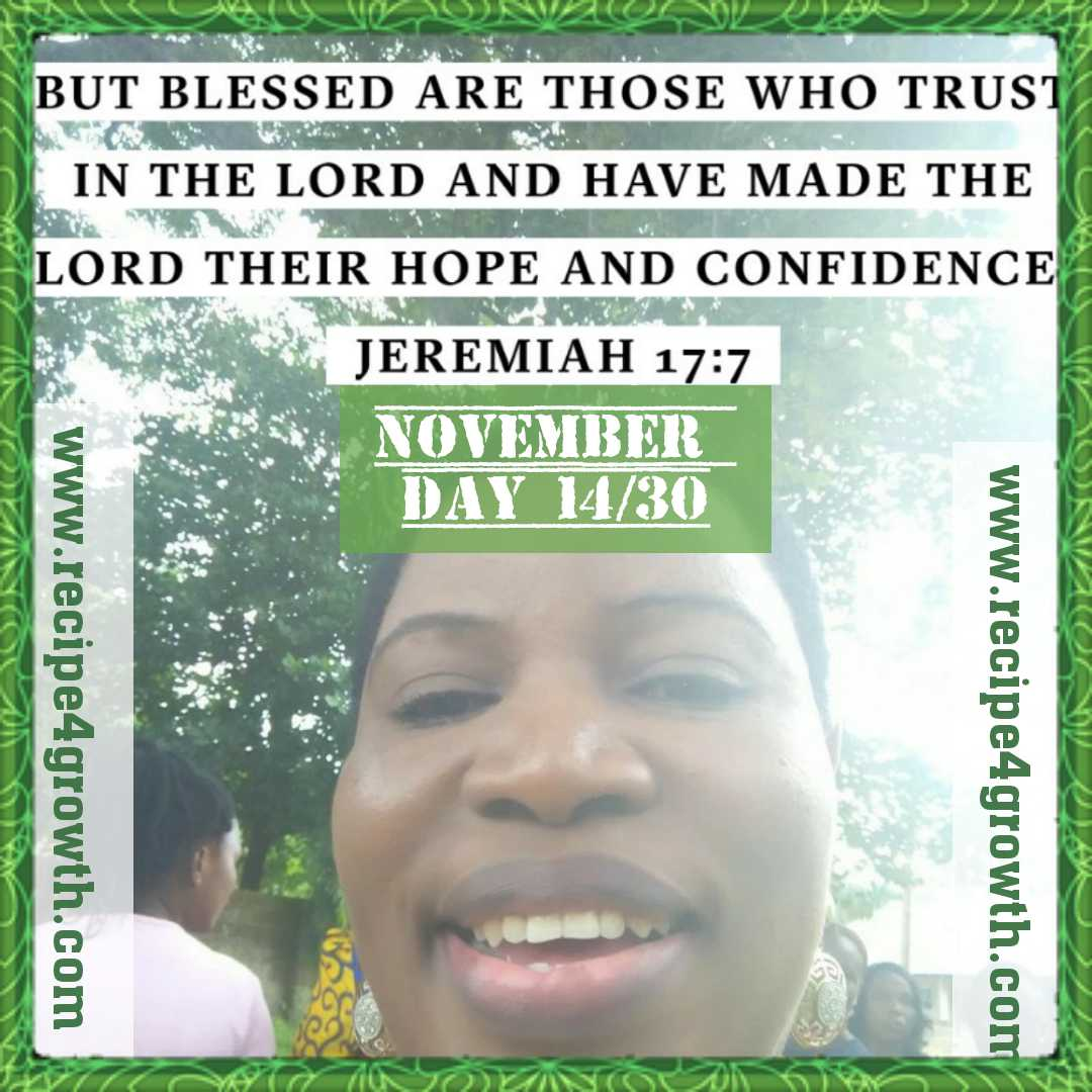 BLESSED ARE THOSE WHO TRUST IN GOD
