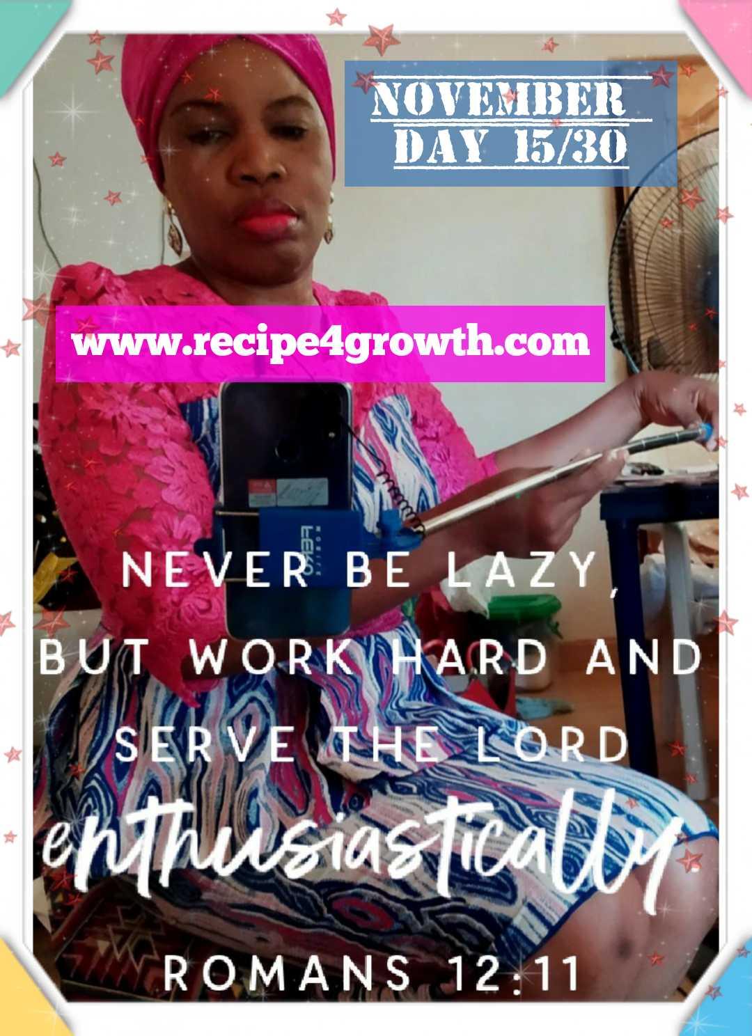 GOD DEMANDS QUALITY WORK