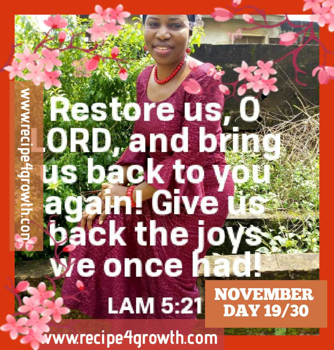 TURN US BACK TO YOU O LORD